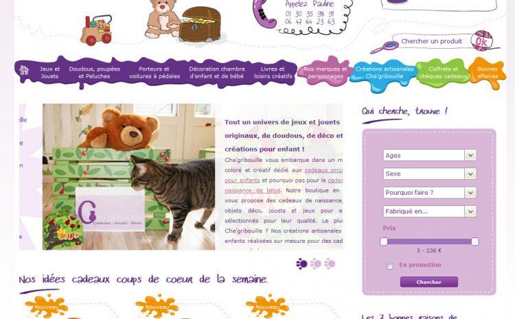 Cha'gribouille – le plein d'idées cadeaux pour enfants !